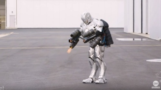 Adam Savage Of 'Mythbusters' Made A Real-Life 'Iron Man' Suit And Holy Sh*t It Has A Jet Pack To Fly!!