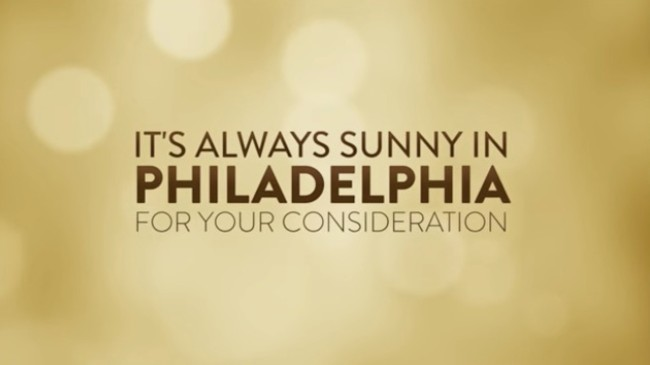 always sunny FYC