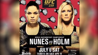Can UFC 239's Holly Holm Capture Lighting In A Bottle For The Second Time?