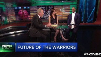Andre Iguodala Laughs, Says 'Nobody's Going To The Knicks, Sorry' When Asked About Warriors Free Agents