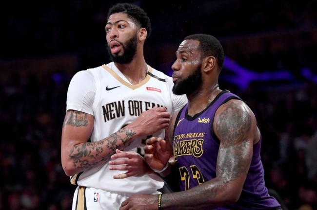 lakers cap space anthony davis trade