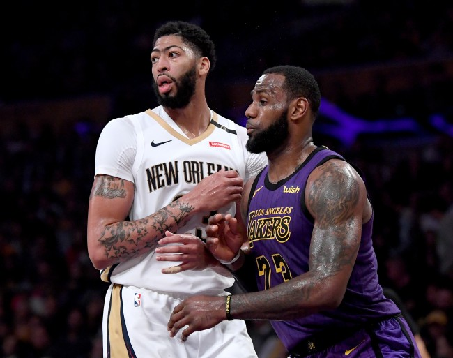 Anthony Davis was reportedly Lakers' only chance to land a superstar this summer next to LeBron James