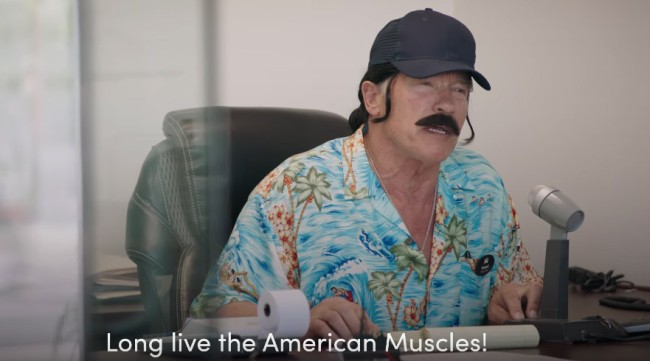Arnold Schwarzenegger Went Undercover Disguised As A Used Car Salesman