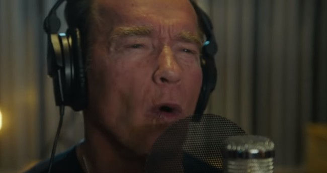 Arnold Schwarzenegger is rapping on a new song titled Pump It Up (The Motivational Song) with Austrian singer Andreas Gabalier.