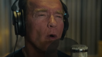 Arnold Schwarzenegger Made A Rap Song And It's Really Something