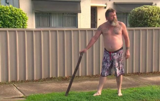 australian man robber Didgeridoo interview