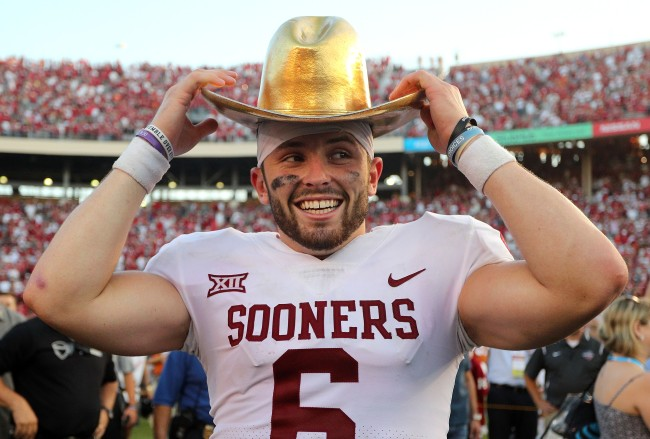 Baker Mayfield trash talks current Texas QB Sam Ehlinger describing why they don't like each other