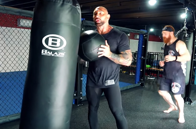 Batista Sheamus Cardio Workout