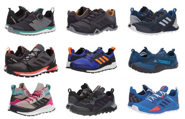 best adidas hiking shoes