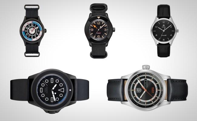 best black watches for men 2019