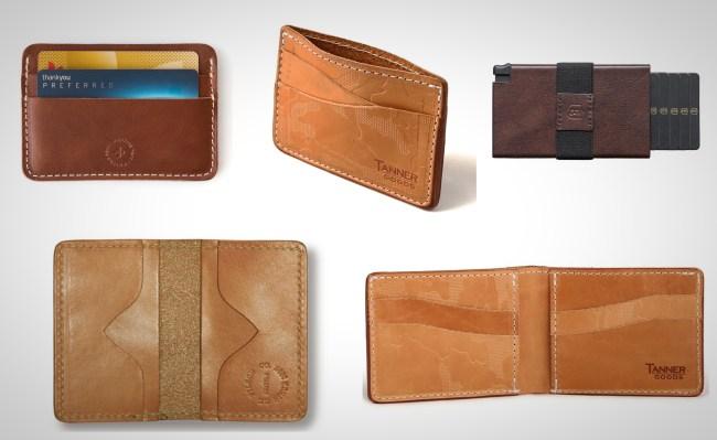 best leather slim wallets for men