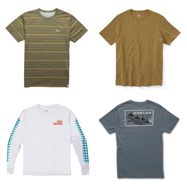 Best of Huckberry Summer 2019 t-shirts