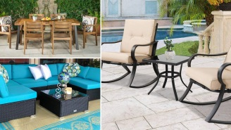 These 12 Great Patio Furniture Sets Are Perfect For Chilling Out This Summer