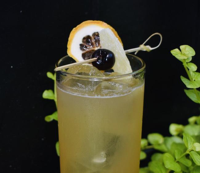 blueberry mint CBD drink