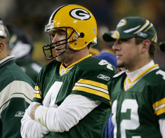 Former Green Bay Packers legend Brett Favre talks about the current state of his relationship with Aaron Rodgers