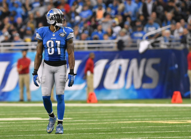 """Calvin Johnson reveals he wants """"money back in his pocket"""" to repair strained relationship with Detroit Lions."""