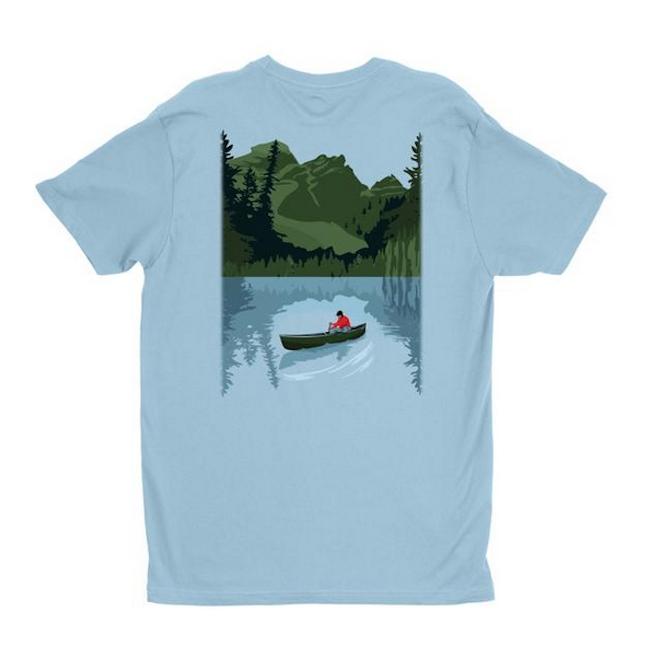 Canoe T-Shirt from Let's Drift