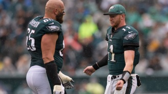 Cowboys' DeMarcus Lawrence And Eagles' Lane Johnson Engage In Lame Twitter War Over Carson Wentz's Big Contract