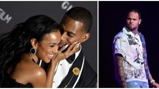Chris Brown Blasts Victor Cruz For Dating His Ex, Karrueche Tran, In Salty Instagram Comments