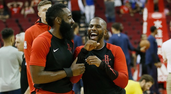 Chris Paul And His Agent Vehemently Deny Rift With James Harden