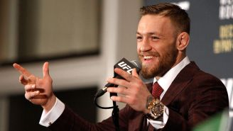 Video Emerges Of Conor McGregor Punching An Old Dude In The Face