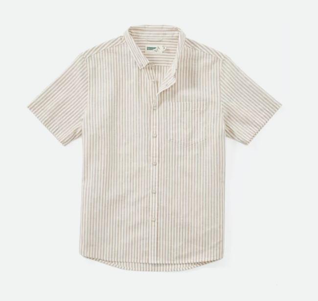 Cotton-Linen Short Sleeve Shirt from Wellen