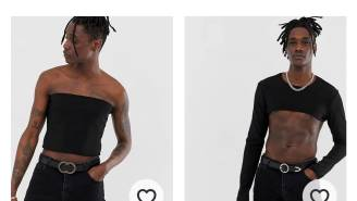 ASOS Says The Hot Summer Fashion Trend Is Crop Tops For Men And The Internet Isn't So Sure