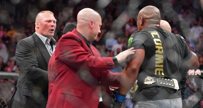 Dana White Denies Deal With ESPN Was Reason Brock Lesnar Left UFC