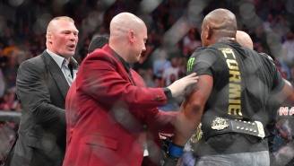 Dana White Vehemently Denies Reports That UFC's Deal With ESPN Was The Reason Brock Lesnar Returned To WWE