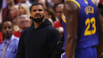 Warriors Fans Are Mercilessly Trolling Drake With A Savage Billboard Using His Old Lyrics