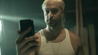 Eminem Recruits Slim Shady Impersonator Chris D'Elia And Squints From 'The Sandlot' In Logic's 'Homicide' Music Video