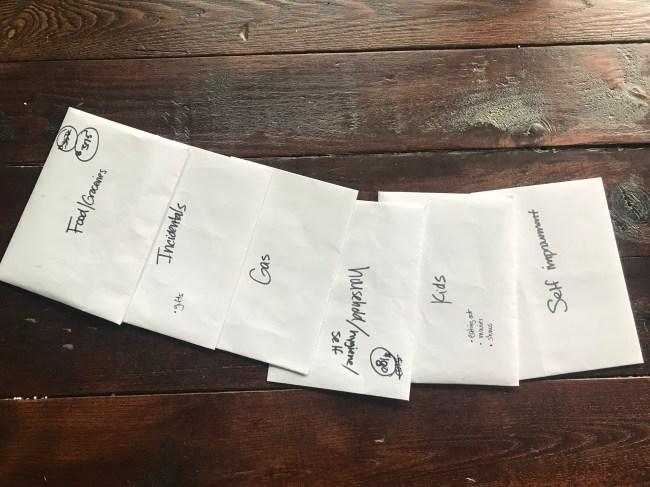 envelope system budget