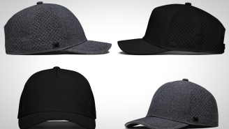 These Moisture-Wicking Performance Snapbacks Are Designed To Float So You Won't Lose Them On The Boat