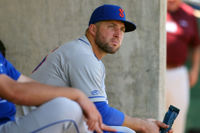 Tim Tebow of the Syracuse Mets gets brutal scouting report