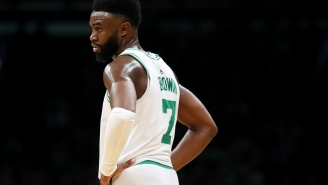 Celtics' Jaylen Brown Goes Nuclear On Fan For Trolling Him While He Was Shooting His Shot At Instagram Model
