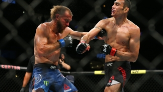 These Gnarly Photos Of Daniel 'Cowboy' Cerrone's Face After Losing To Tony Ferguson At UFC 238 Make My Face Hurt