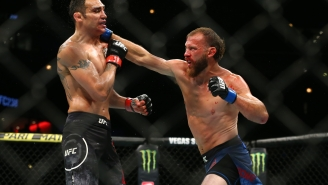 Donald Cerrone Made The Mistake Of Blowing His Nose While It Was Broken And His Eye Got Really Nasty During His Fight At UFC 238