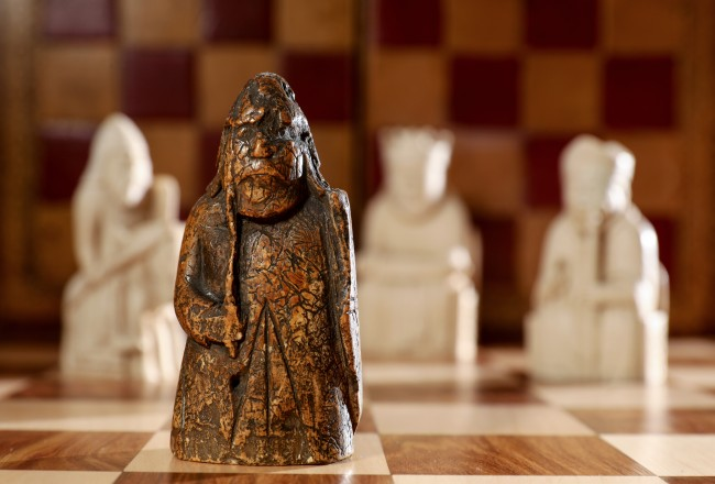 lost Lewis Chessman discovered auction at Sotheby's 12th century walrus ivory