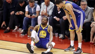 The Golden State Warriors Have Reportedly Discussed Sign And Trade Options With Kevin Durant
