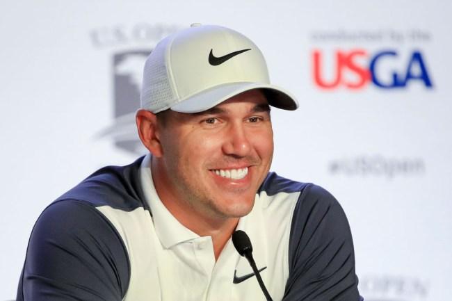 Brooks Koepka Fires Shots U.S. Open