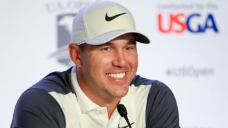 Brooks Koepka Fired ALL The Shots During His U.S. Open Presser On Tuesday