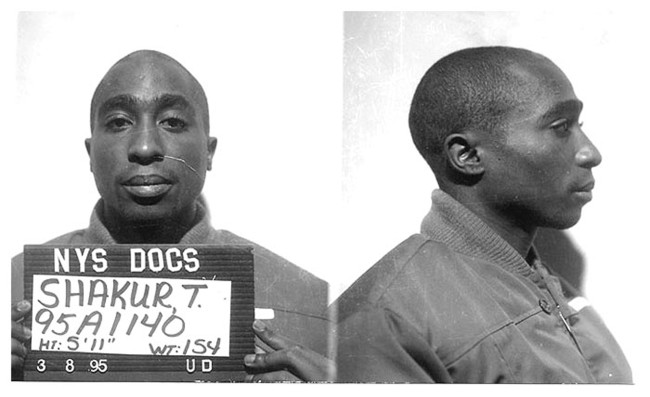 Tupac Shakur first identification ID card issued at Clinton Correctional Facility in New York is going up for auction.