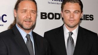 Russell Crowe Tells Howard Stern How He Drunkenly Bought A Dinosaur Skull From Leonardo DiCaprio