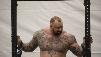 The Mountain Lost His 'World's Strongest Man' Title To A 29-Year-Old American Who Weighs 110-Pounds Less Than Him