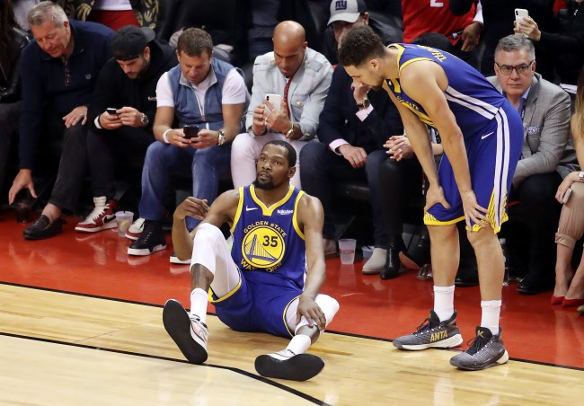 Report claims the Golden State Warriors were planning to pitch Kevin Durant on a unique long-term contract before injury