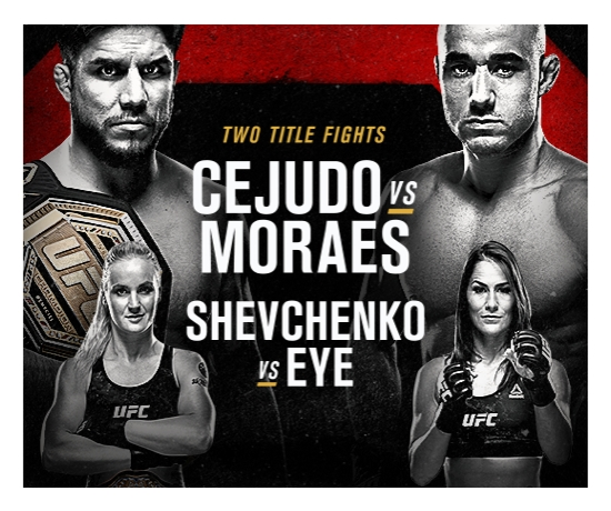 If you want to watch UFC 238, ESPN+ is the only spot to be.