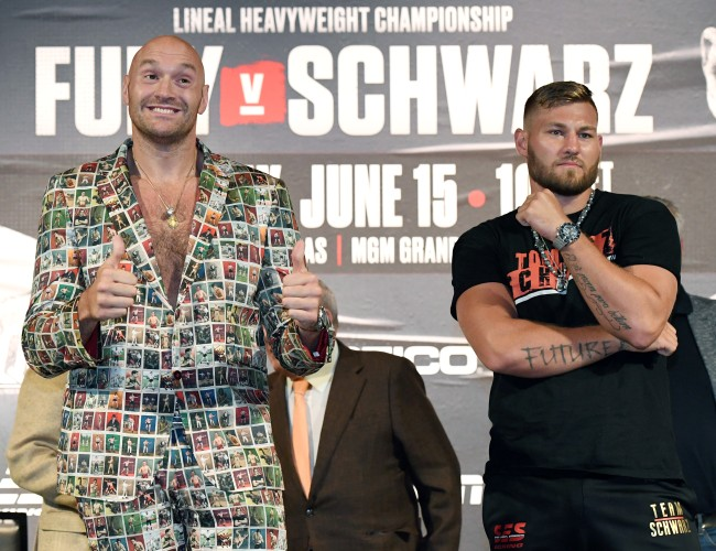 ESPN+ is the only place to watch the fight between Tyson Fury and Tom Schwarz, and Copa America