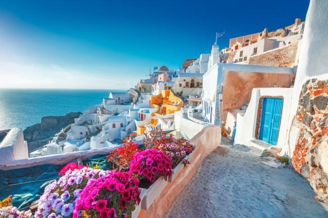 Santorini, Greece world travel
