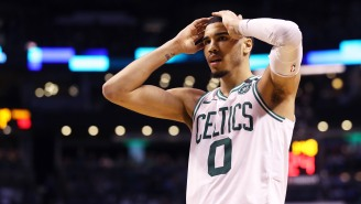 Celtics Star Jayson Tatum Is Getting Dragged By Boston Fans For Rooting For His Hometown Blues