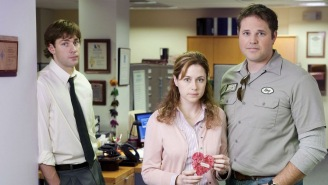 Jim Brought Pam's Ex From 'The Office' To Game 7 Of The Stanley Cup Final, But She Shut Him Down With Perfect Responses